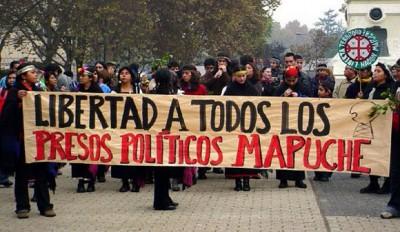 Presos mapuches