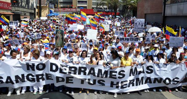 Venezuela marcha opositora