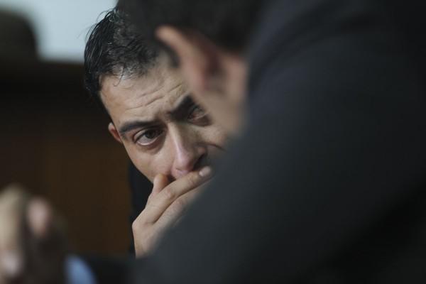 El ex policía Julio Diego Torales, condenado a 10 años de prisión. Foto: Daniel Davobe/Télam