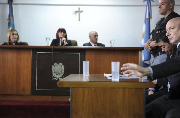 La condena. Foto: Daniel Davobe/Télam