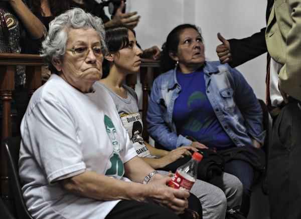 Familiares de Luciano Arruga. Foto: Daniel Davobe/Télam
